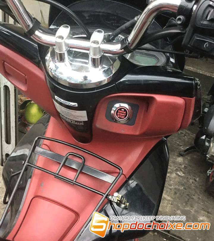 PCX Honda lắp đặt chống trộm engine start stop